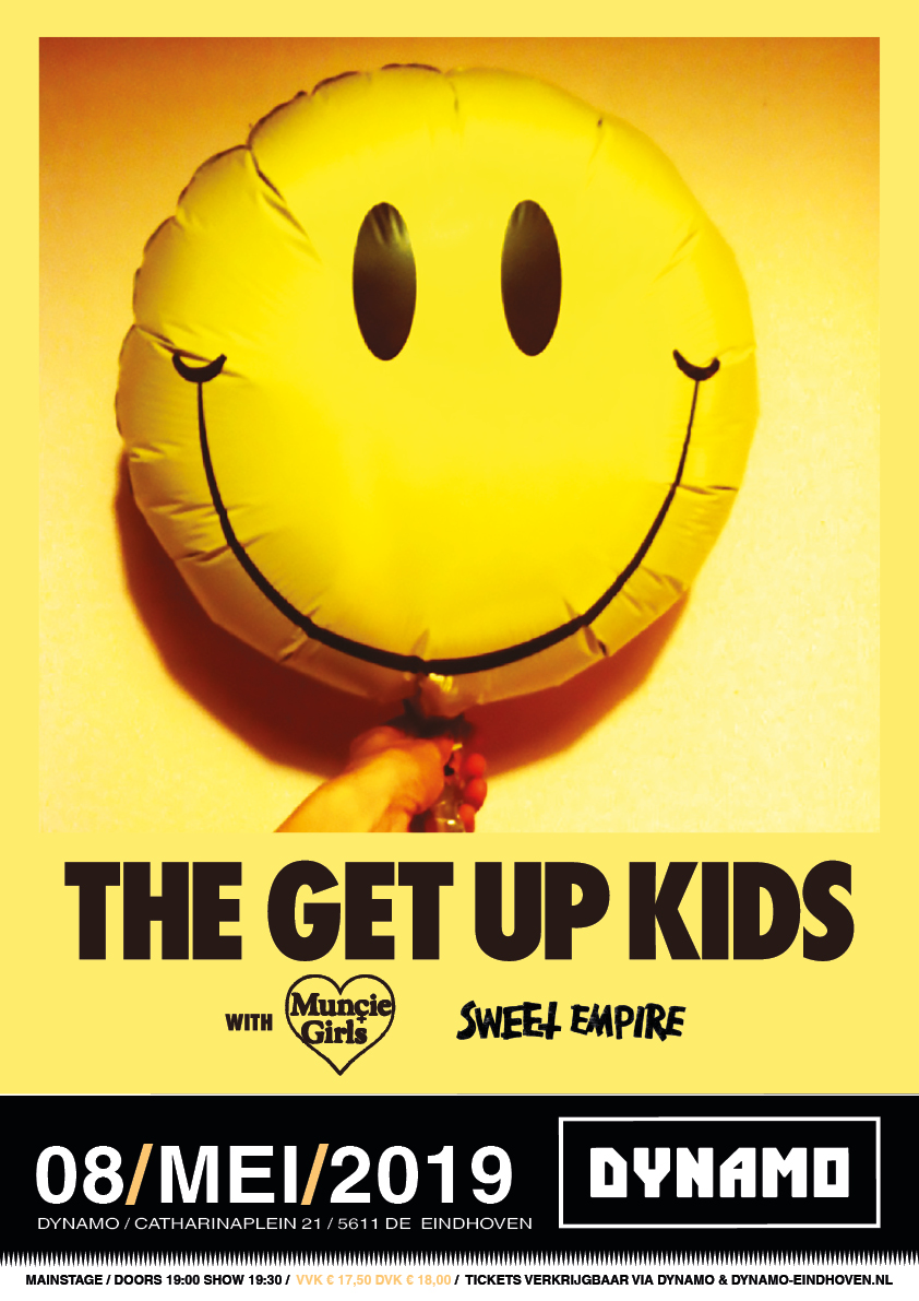 Flyer The Get Up Kids Dynamo