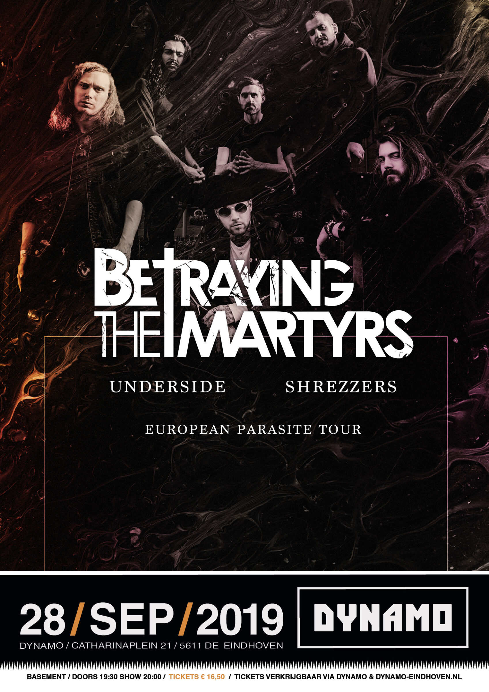 Poster Betraying The Martyrs