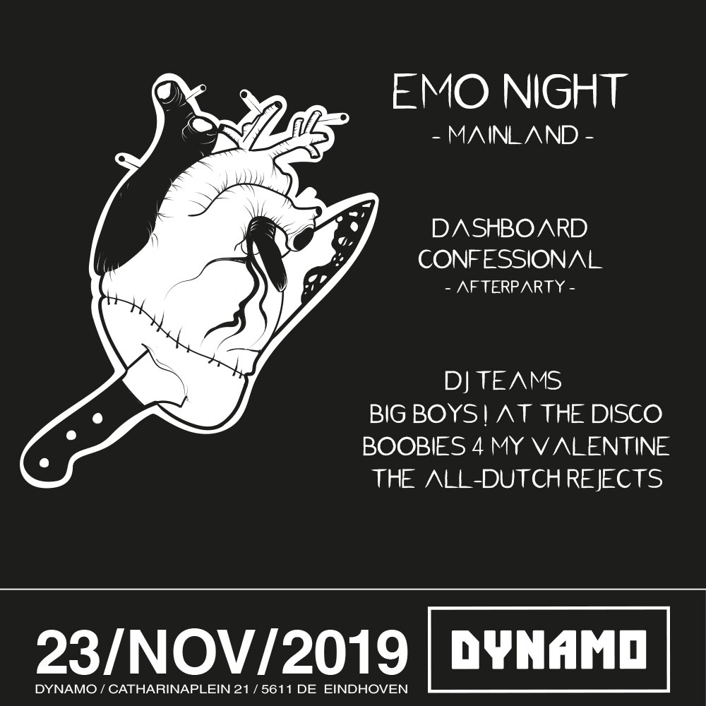 Emo Night #3 posters