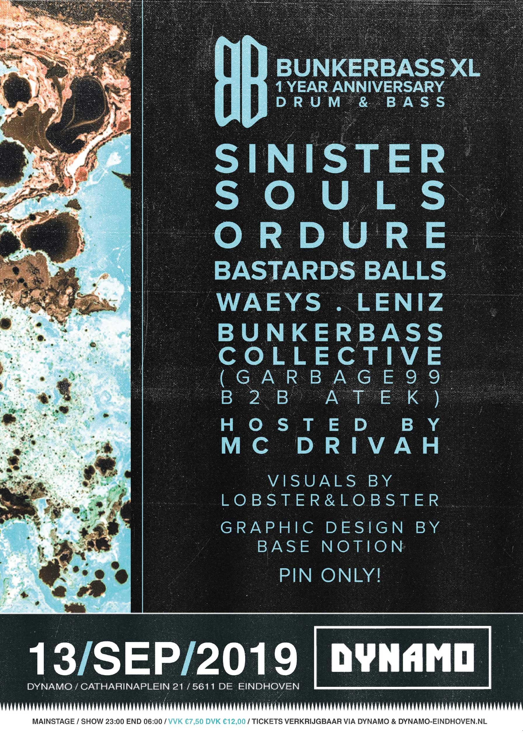 Bunker Bass XL poster