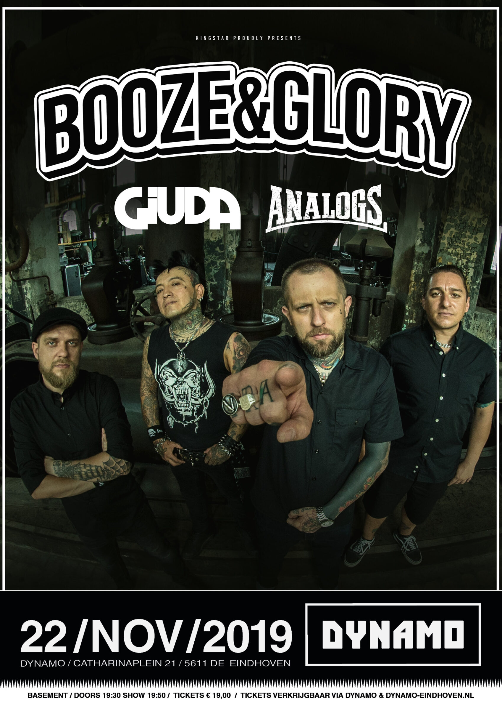 Booze and Glory flyer