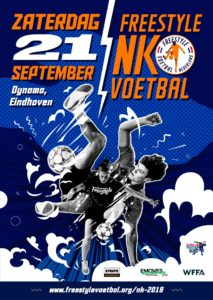Freestyle voetbal poster