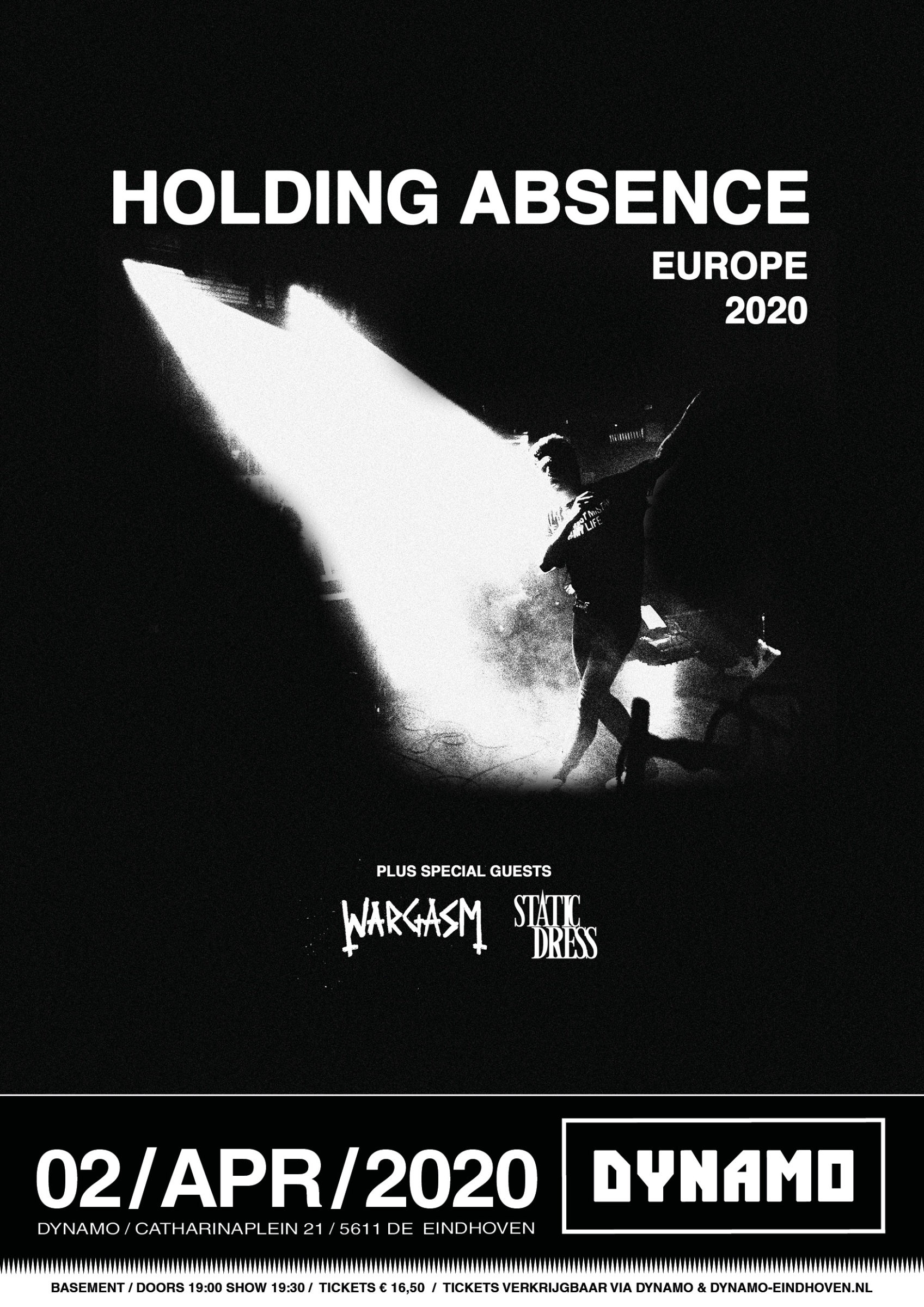Poster Holding Absence